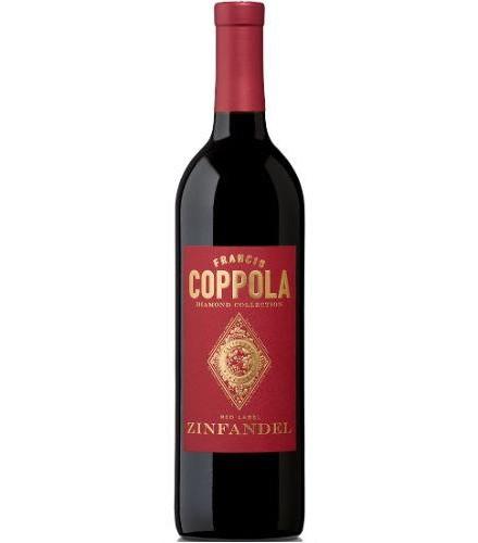 Vin rouge Etats-Unis. USA. Amérique du Nord. Californie. FRANCIS COPPOLA Diamond Collection Zinfandel 2015 0,75 L