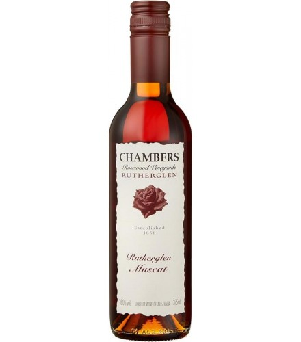 CHAMBERS ROSEWOOD Rutherglen Muscat Non Vintage 0,375 L